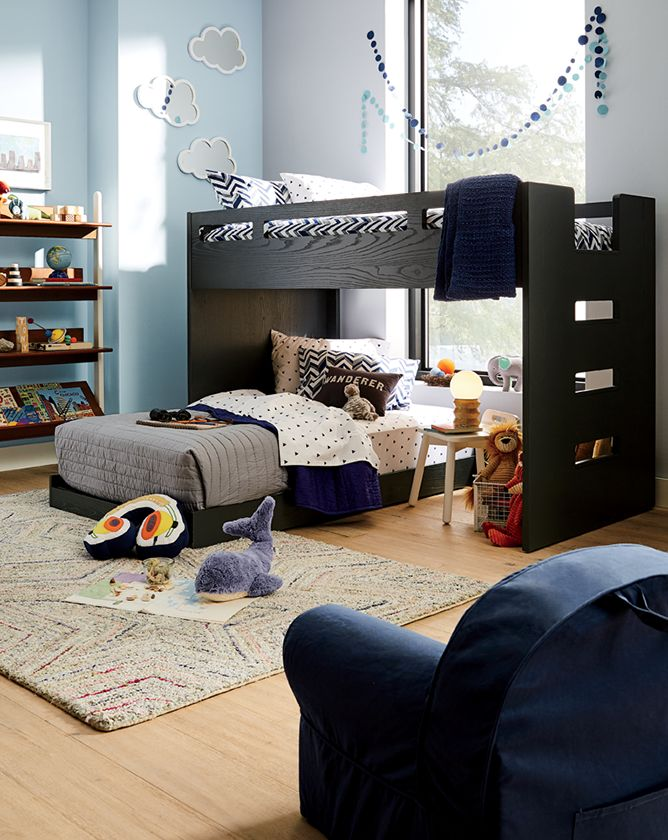 Boys Bedroom Bunk Beds Crate And Barrel