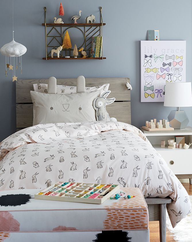 Girls Bunny Themed Bedroom Crate And Barrel