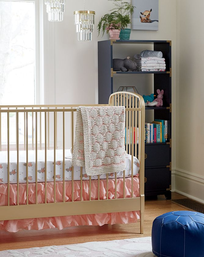Rooms We Love: Girls Pink Nursery