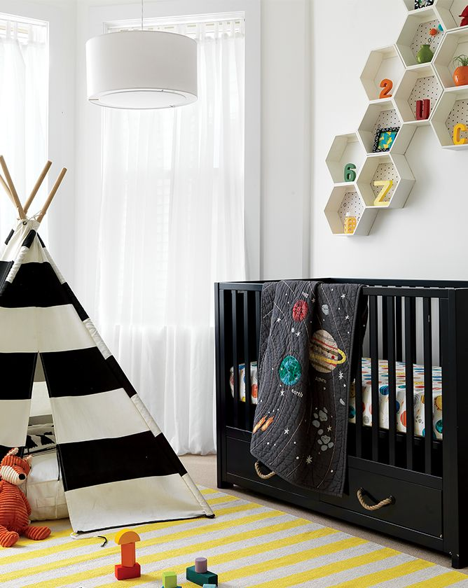 Outer space nursery decor crate and barrel for Outer space decor for nursery