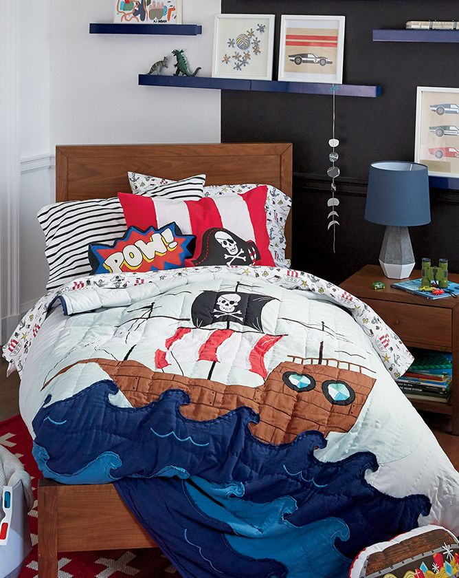 Boys Pirate Themed Bedroom Ideas Crate And Barrel