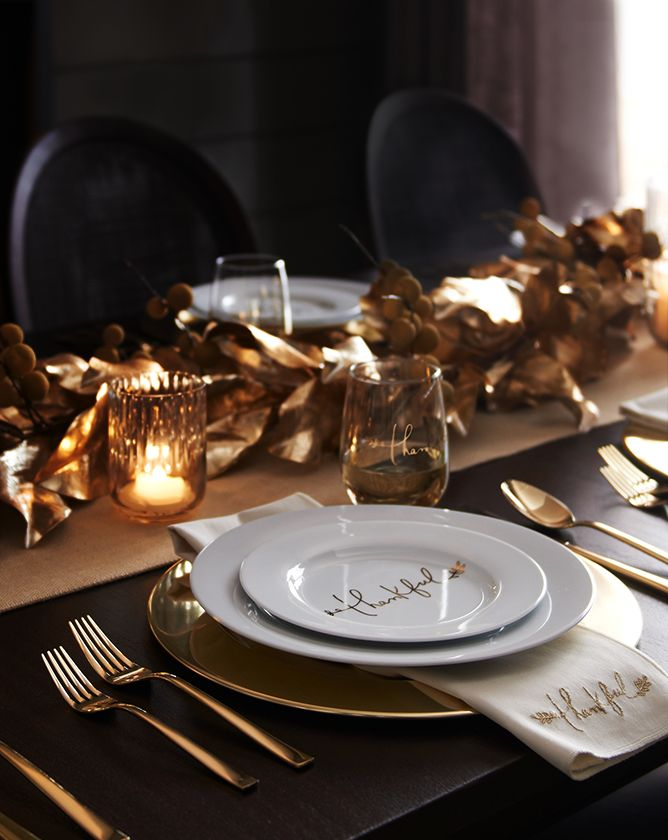 Thankfull Place Setting