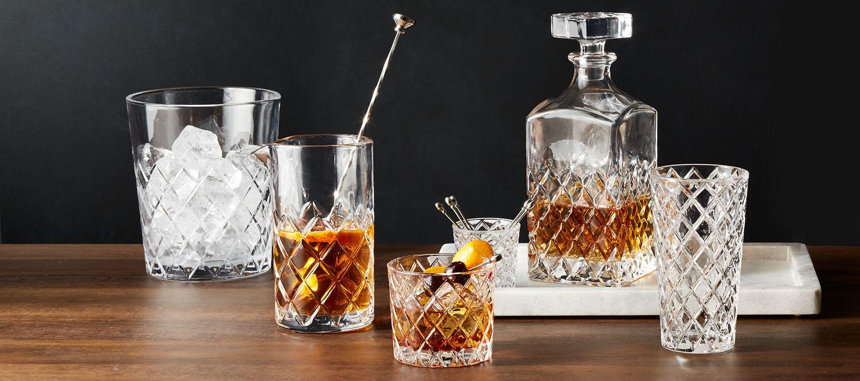 Glass juice cups design - Drinkware Glasses