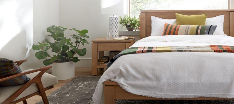 bedroom furniture crate and barrel rh crateandbarrel com Discontinued Crate and Barrel Couch Crate and Barrel Plates Discontinued