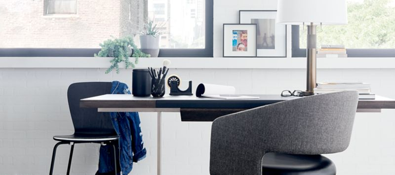 Home office home desk office Nice Crate And Barrel Home Office Furniture Crate And Barrel