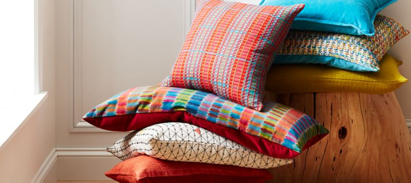 throw blankets and sofa pillows on sale now crate and barrelpillows and throws