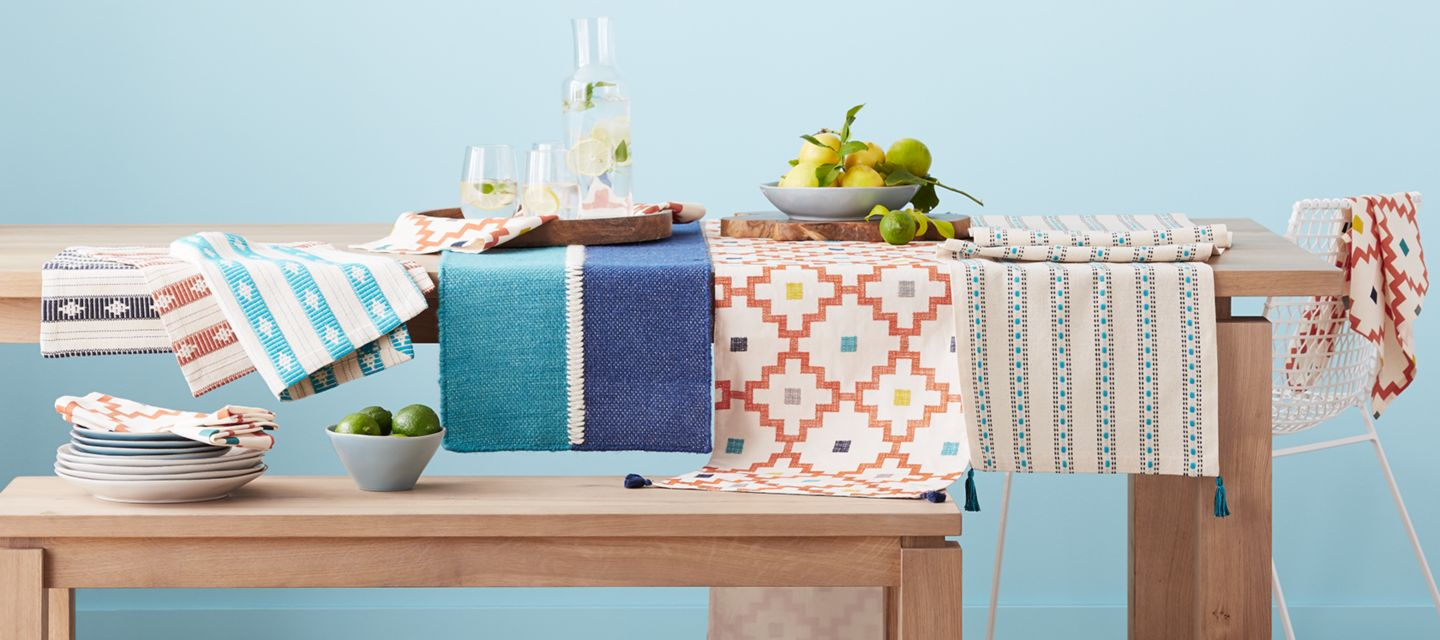 table linens for holiday & everyday | crate and barrel