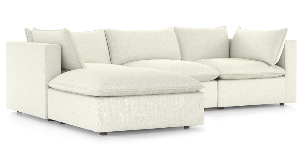 Lotus Modular 3-Piece Low Sofa Sectional
