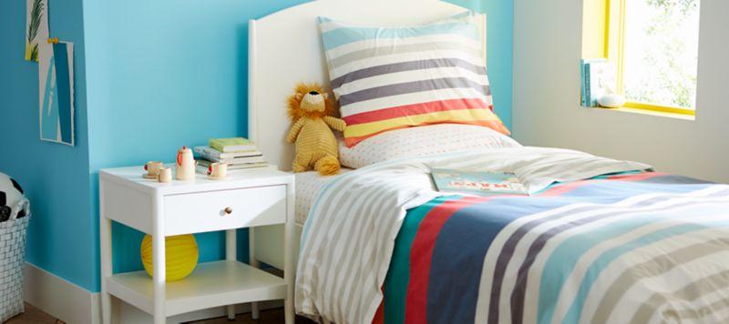 baby and kids bedding crate and barrel rh crateandbarrel com College Room Decor Dorm Room Wall Decor