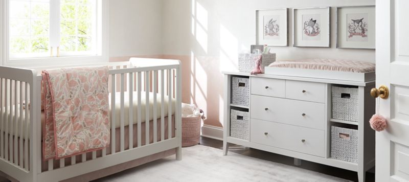 Girls Nursery Inspiration Crate and
