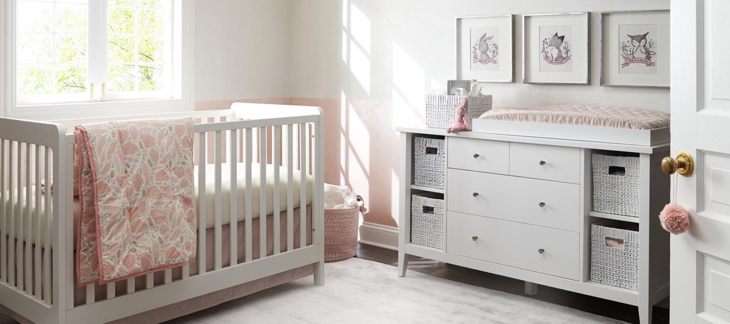 Girls Nursery Inspiration | Crate and Barrel