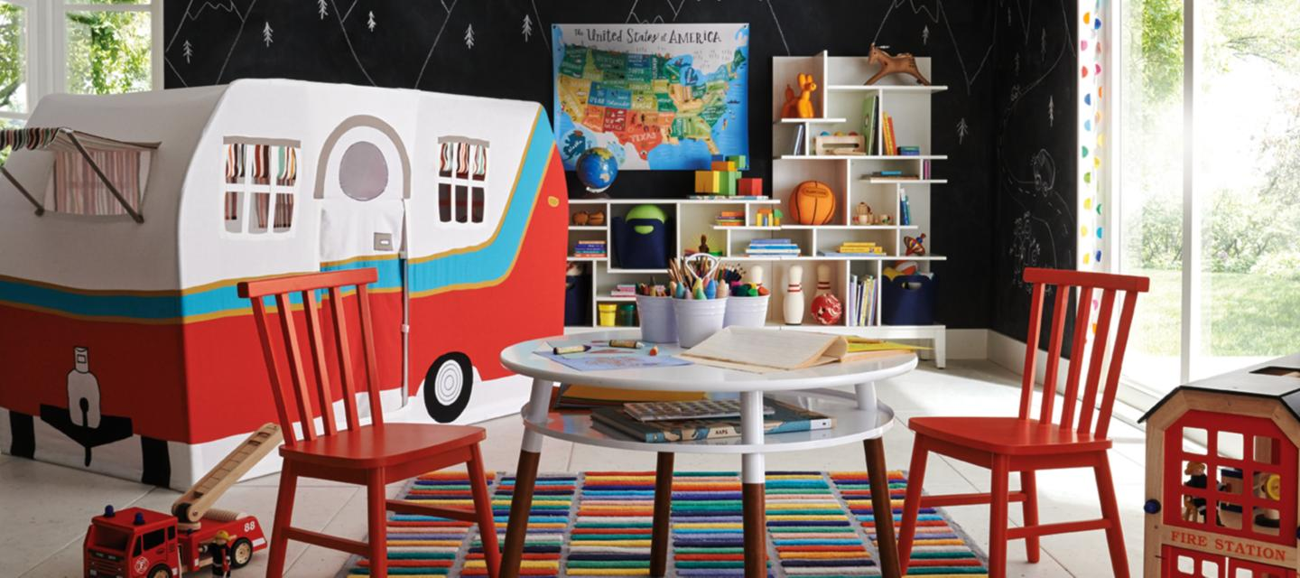 Children S And Kids Room Ideas Designs Inspiration: Kids Playroom Inspiration