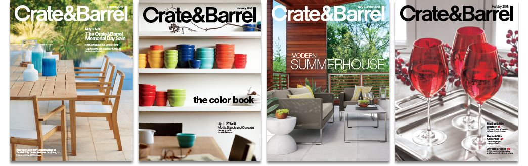 environmentally friendly catalogs sourcebooks crate and barrel