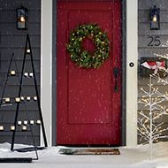 Festive First Impression. Shop Holiday Porch
