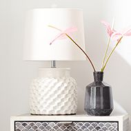 Small Scale, Big Look. Shop Textured Lamps