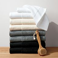 How To Fold A Tea Towel For Display