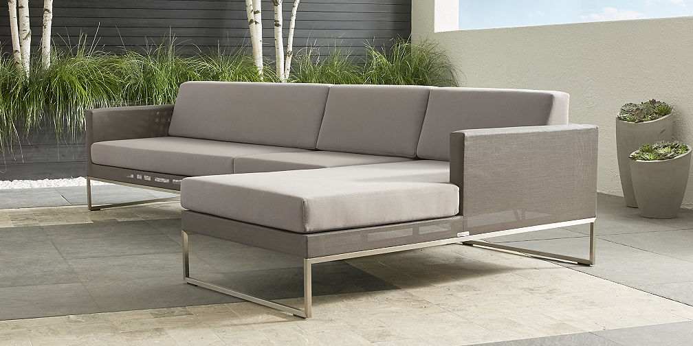 Outdoor Sectional Collections Crate And Barrel