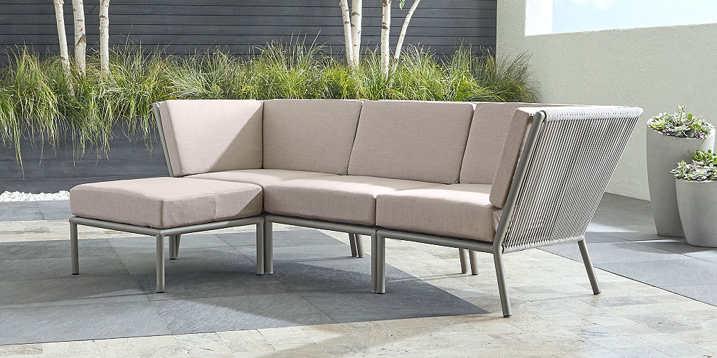 Outdoor Sectional Collections | Crate and Barrel