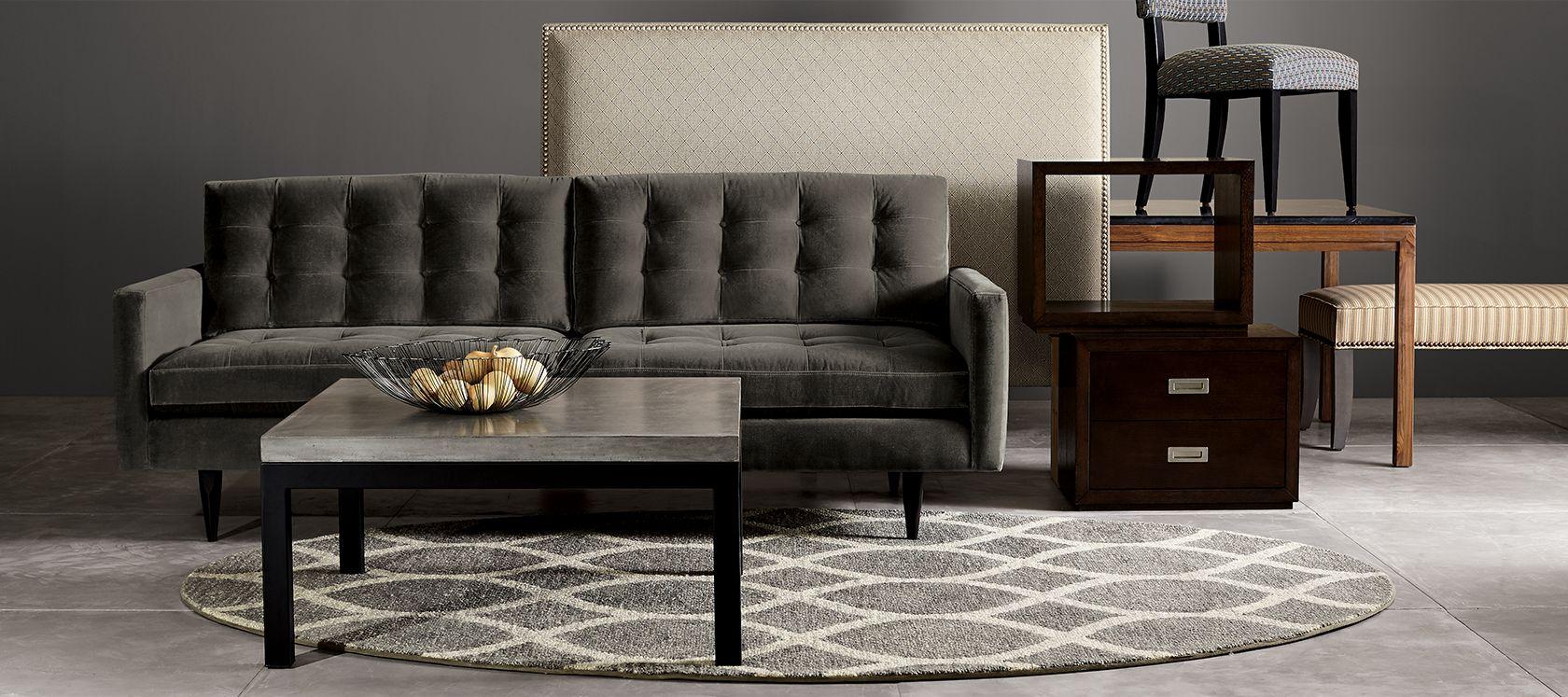 custom design furniture | crate and barrel