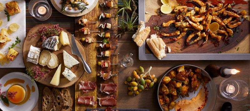 Tapas Dinner Party Ideas Part - 50: Crate And Barrel