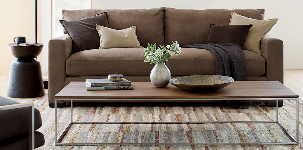 Rustic Modern Living Room: Axis | Crate And Barrel