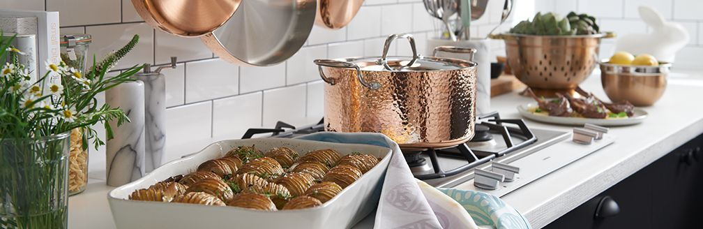 Fleischer and Wolf Copper Cookware