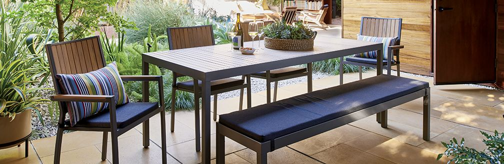 Casual Outdoor Dining Furniture Alfresco Crate and Barrel