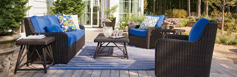 Elegant Patio Furniture: Calistoga. Calistoga Outdoor Living Room
