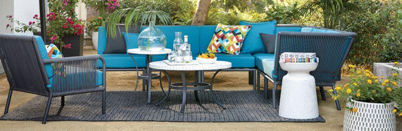 modern outdoor lounge furniture morocco crate and barrel rh crateandbarrel com moroccan outdoor chairs moroccan outdoor furniture melbourne