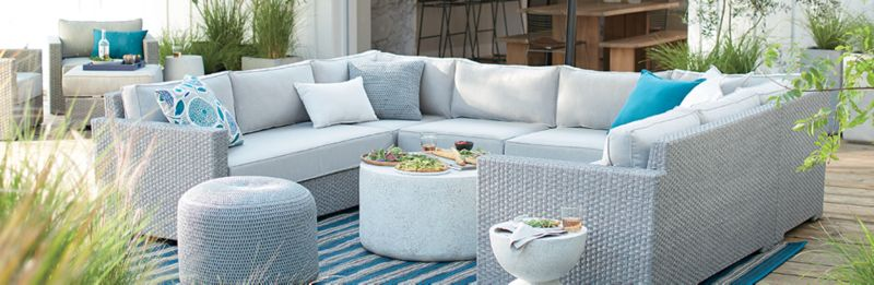Grey Outdoor Furniture: Ventura