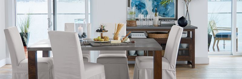 Modern Rustic Dining Room Galvin Crate and Barrel