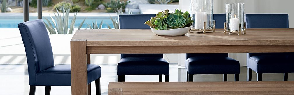 Crate And Barrel Big Sur Dining Table - Dining room ideas