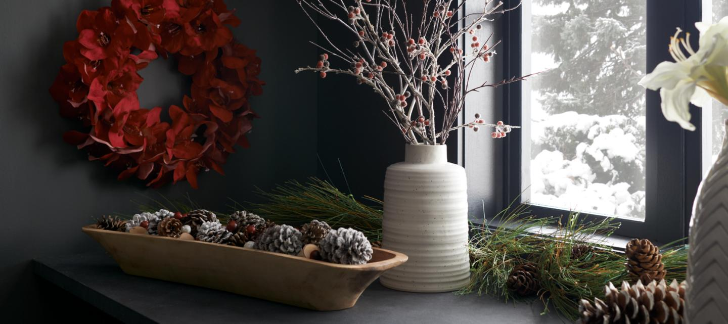 11 1 Holiday Botanicals. Home Decor Accessories for a Stylish Home   Crate and Barrel