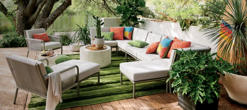 best outdoor patio furniture crate and barrel rh crateandbarrel com outdoor patio couch cover outdoor patio couch diy