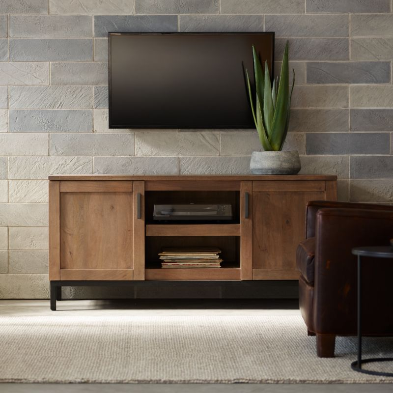 Wyatt Media Console Furniture For Your Contemporary