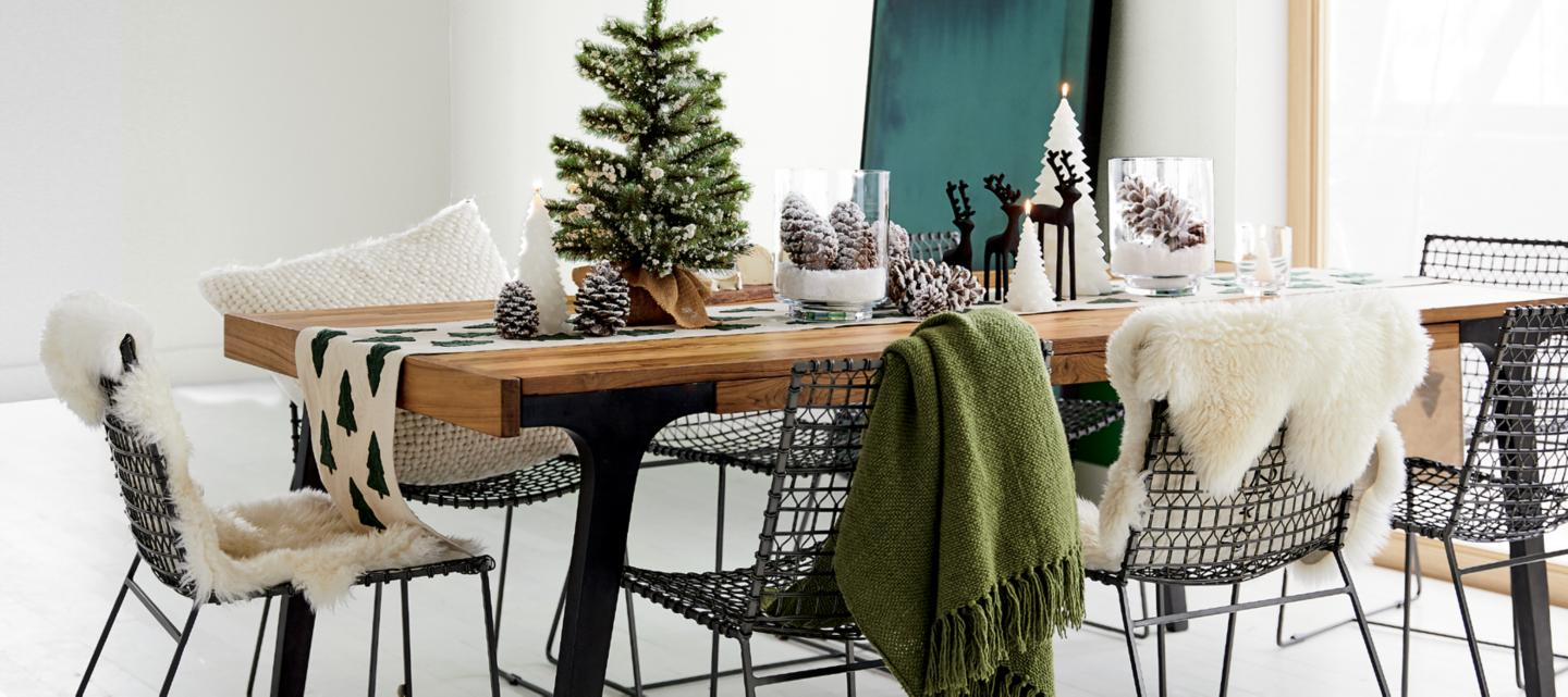 Furniture Home Decor And Wedding Registry Crate Barrel From Tiny Islands Ike Earrings Welcome To Our Winter Wonderland