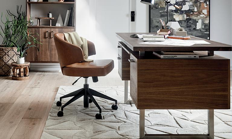 new products 04f9a 701e7 Home Office Furniture | Crate and Barrel
