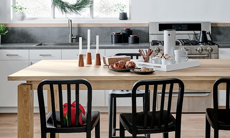 Astonishing Dining Furniture Bar Kitchen Furniture Crate And Barrel Short Links Chair Design For Home Short Linksinfo