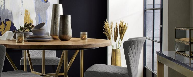 Modern Elegant Dining Room Hayes Crate And Barrel Canada