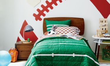 Boys Football Bedroom | Crate and Barrel