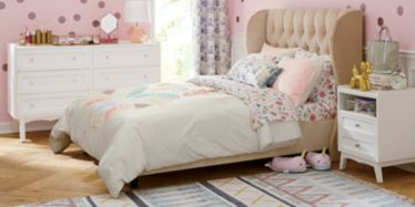Girly Pink Bedroom Crate And Barrel
