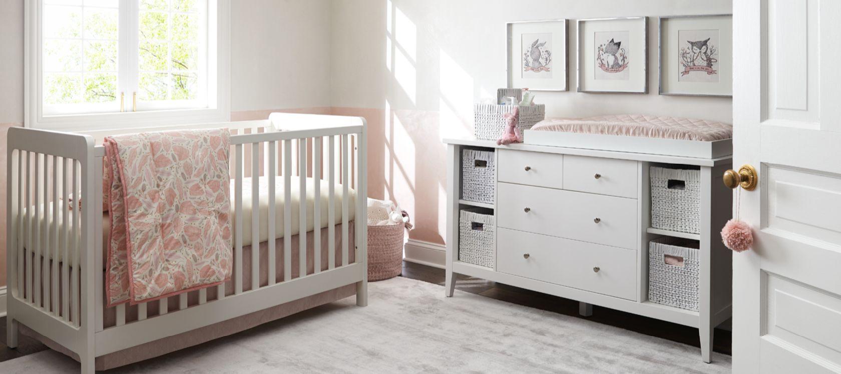 Crib Bench Decor