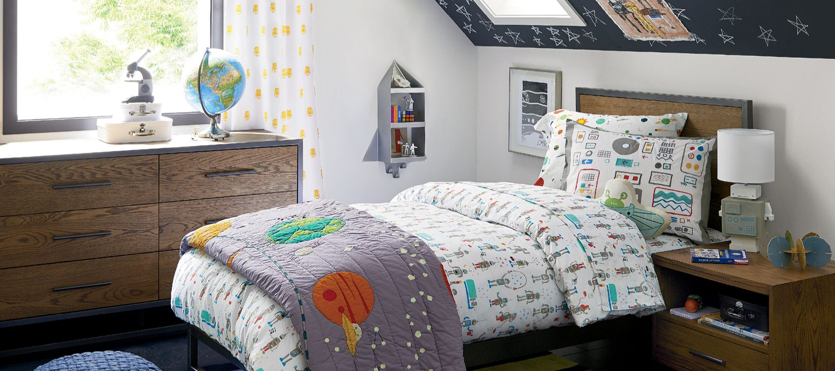 Boys Bedroom Inspiration Crate And Barrel