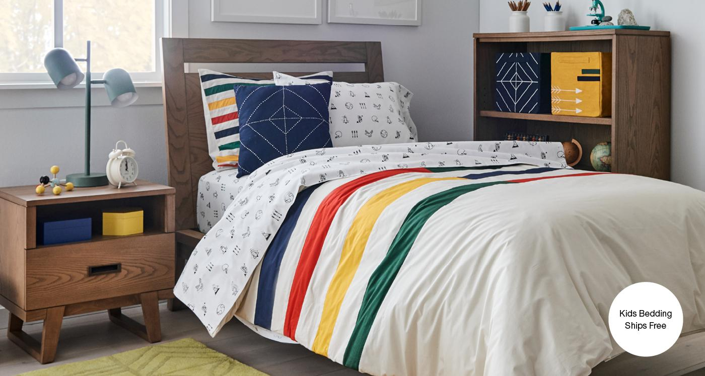 Baby And Kids Bedding Ships Free Crate And Barrel