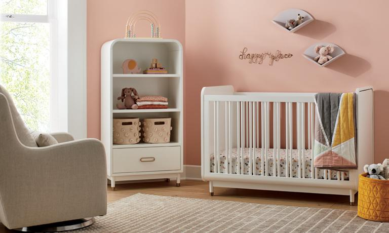 Glam Nursery Crate And Barrel