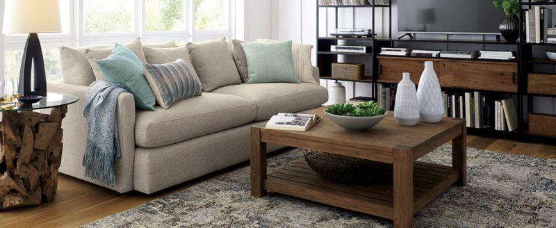 Fantastic Sofas Couches And Loveseats Crate And Barrel Inzonedesignstudio Interior Chair Design Inzonedesignstudiocom