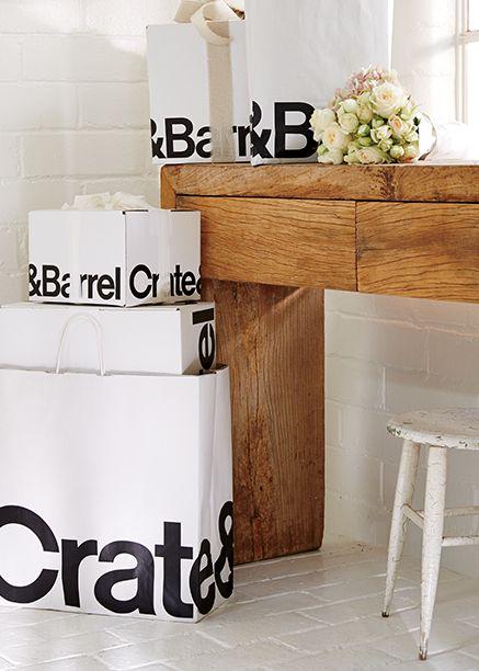wedding registry benefits crate and barrel