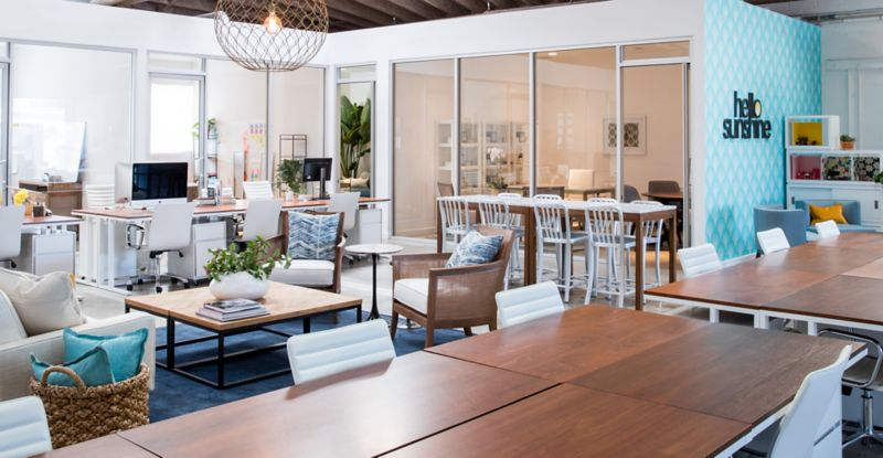 Crate and Barrel CB2 Business Sales Real Clients Hello Sunshine Headquarters