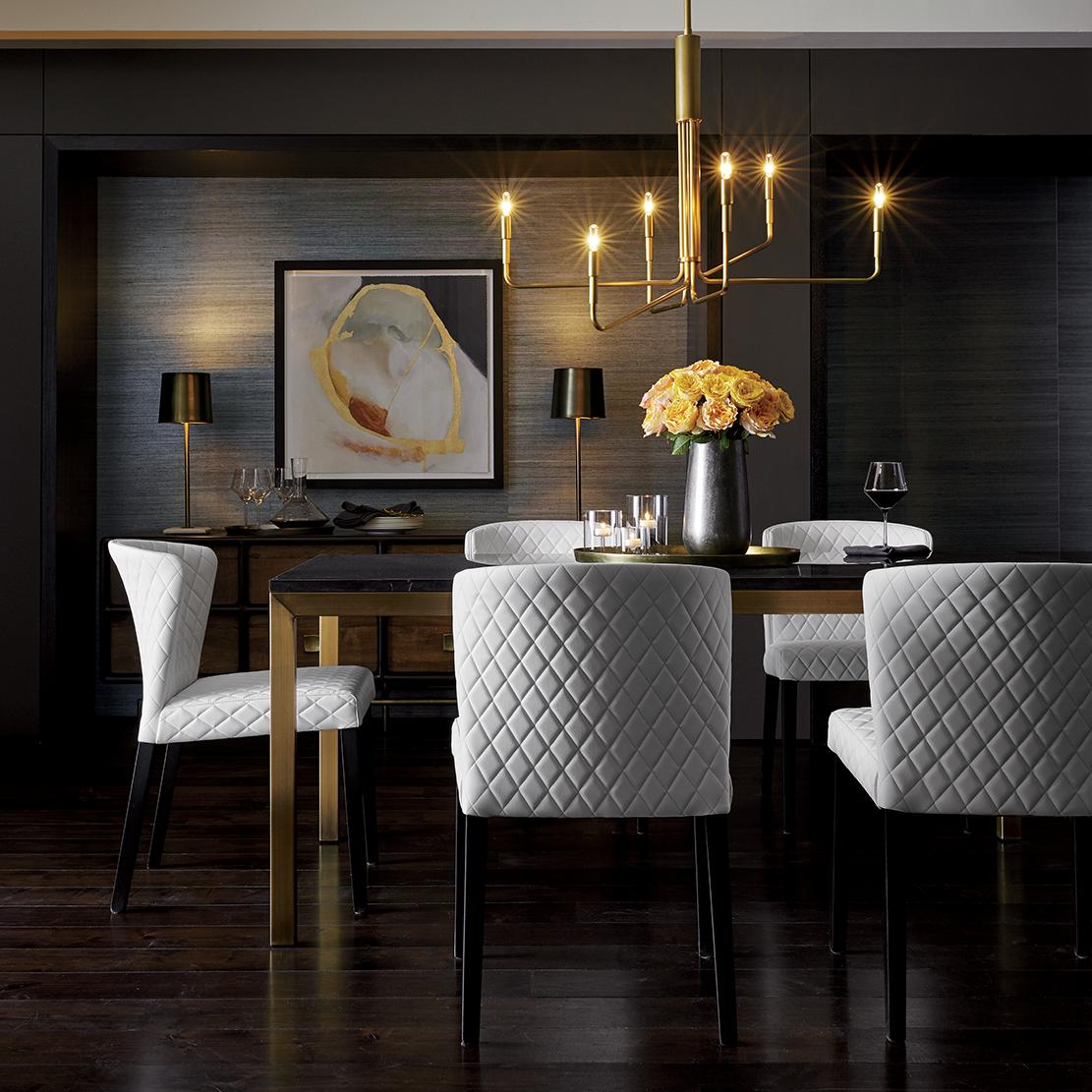 Kitchen craft cabinets atlanta - A Statement Chandelier To Wow The Dinner Party