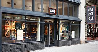 store front for CB2